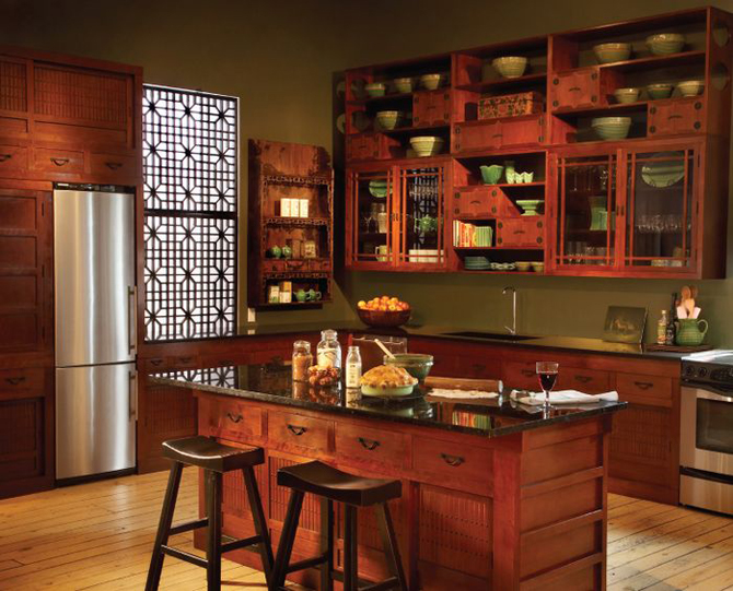 Hewn And Hammered Greentea Design Spectacular Custom Kitchens