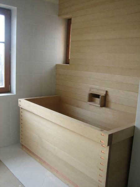 . Hewn and Hammered  ofuro  Japanese soaking tubs