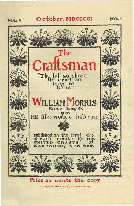 Hewn and hammered books etc ive recently been gifted a large archive of every issue bar two issues 8 and 9 from the 1916 volume are missing of gustav stickleys the craftsman malvernweather Image collections