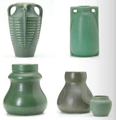 Greenauctionpottery