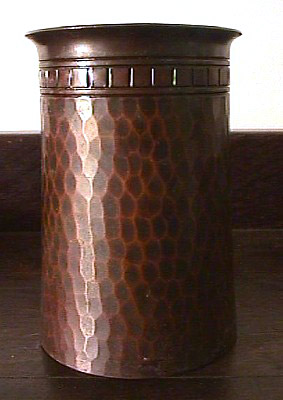 Hewn and Hammered Roycroft Copper