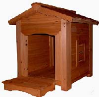 Woodendoghouse